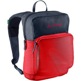 VAUDE Minnie 5 Backpack Kids, rood/blauw